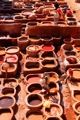 Tanneries Chouara de Fez