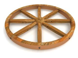 старое колесо
