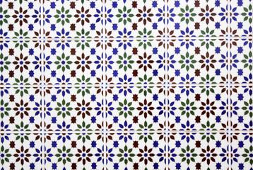 Azulejos de una casa andaluza