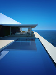 Modern Luxury Loft / Apartment with Ocean View + Infinity Pool