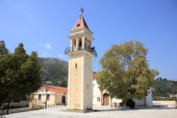 Church in Litakia village, Zante island, Greece