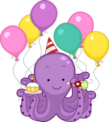 Octopus Birthday Party