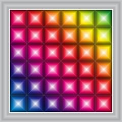 LED display background
