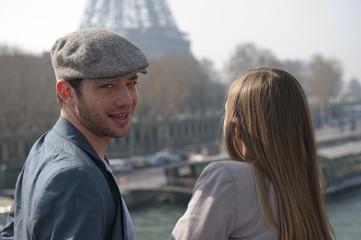 Portrait d'un homme à Paris