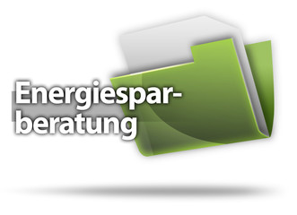 "3D-Style Mappe ""Energiesparberatung"""