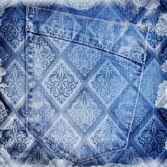 Abstract jeans backround