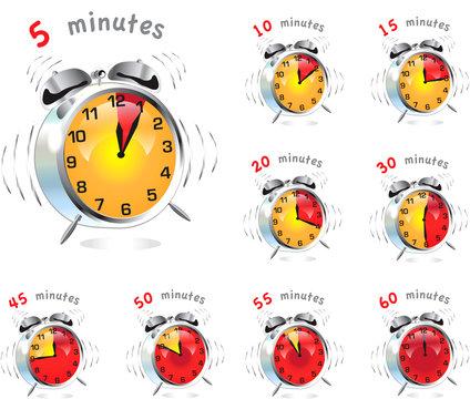 Alarm Timer Clocks