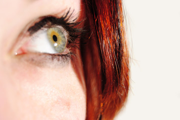 green eye of  a girl 2