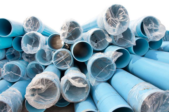 New PVC pipes for city water supply