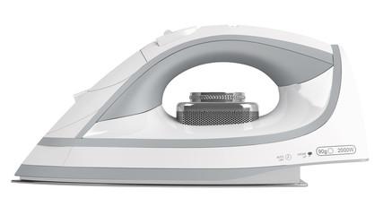 White flat iron