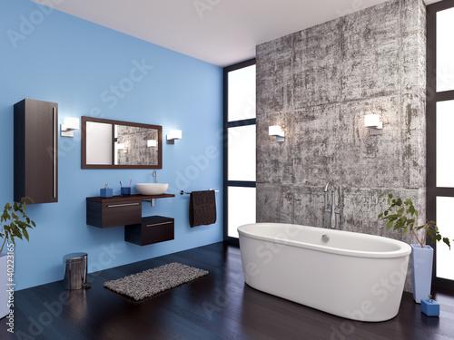 Salle de bain design 1\