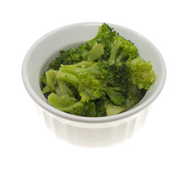 Small serving broccoli