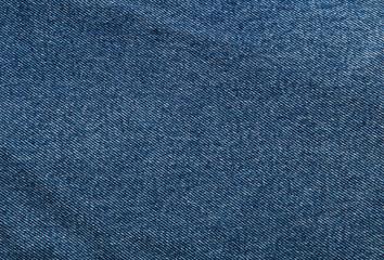 Dunkelblauer Jeansstoff