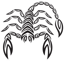 tattoo zodiac scorpion. astrology sign
