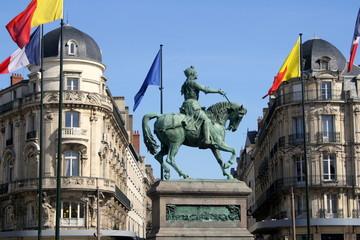 Statue de Jeanne d'Arc, Orléans