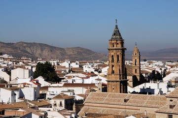 View over city rooftops, Antequera, Spain © Arena Photo UK