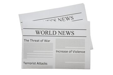 In de dag Kranten World news newspaper