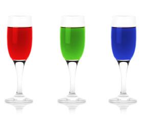 RGB  wineglass