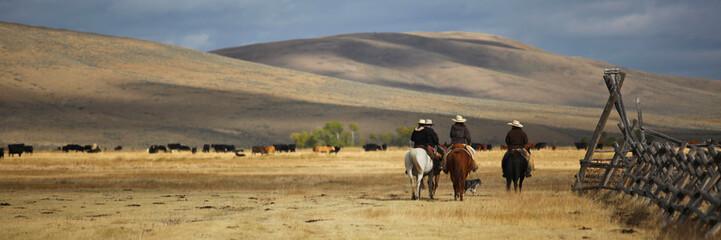 Papiers peints Equitation Cattledrive