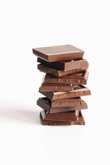 Stock Photo of Dark Chocolate. Candy Pictures Photos Images Pics