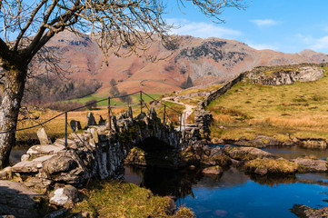 Slaters Bridge in the English Lake District