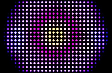 Abstract disco poster background