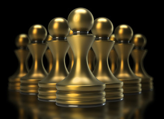chess game abstract background 3d