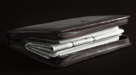 Zeitung und Zeitplanung