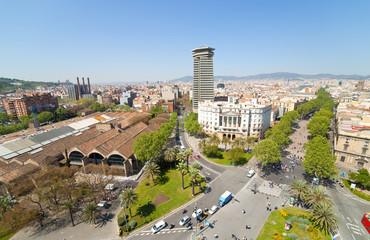 La Rambla. Barcelona, Spain