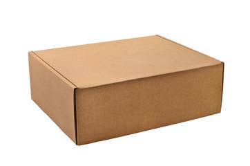a cardboard box