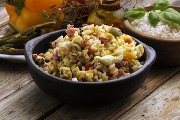 Insalata di riso Rice salad  水稻沙拉