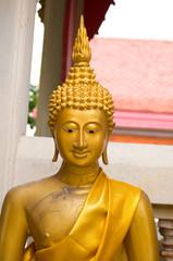 Statue of gold Buddha
