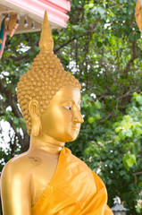 Statue of gold Buddha