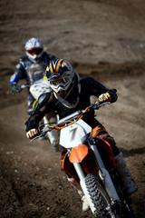 Fototapete - gara di motocross