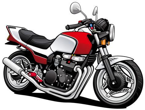 Japanese motorcycle
