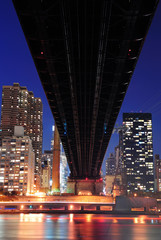 Wall Mural - Queensboro Bridge and Manhattan