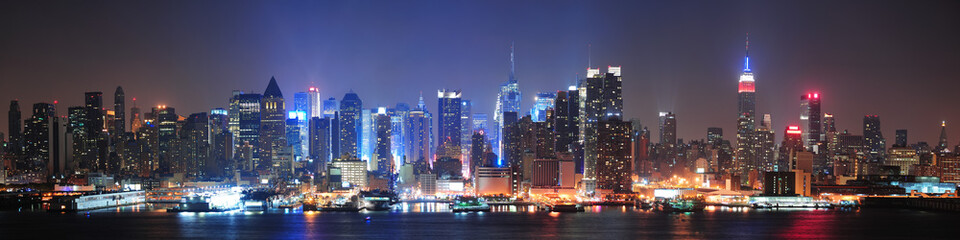 Wall Mural - New York City Manhattan midtown skyline