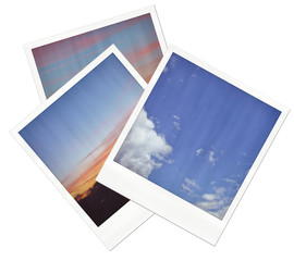 Collection of polaroid  images