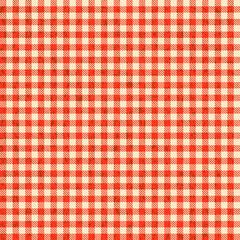 Grunge Karo Tischdecken Muster ROT - endlos