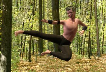 Salto Kung Fu
