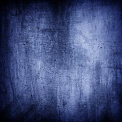 Blue grunge wall texture background