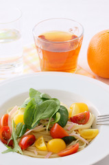salad spaghetti