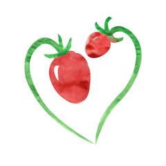 Hand Painted Strawberries