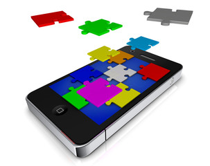 phone apps als Puzzel