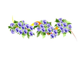 kwiatki - bratki