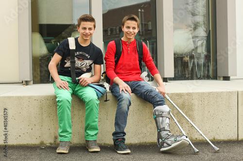 """""""Jungs An Der Schule 14.04.12"""" Stockfotos Und Lizenzfreie"""