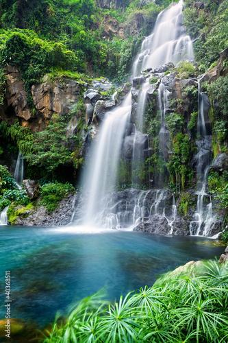 Cascade du bassin des aigrettes ile de la r union photo libre d - Endroit paradisiaque dans le monde ...