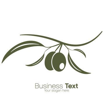 illustration, vecteur olives