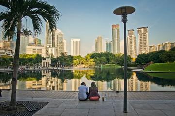 Zelfklevend Fotobehang Kuala Lumpur Kuala Lumpur