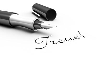 Treue! - Stift Konzept
